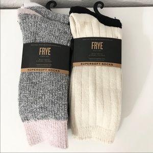 NWT (2) Frye Boot Socks